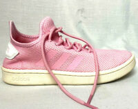 Adidas Womens Court Adapt Pink Tennis Shoes Size 8