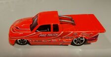 1999 Hot Wheels 1998 Pro Stock Chevy S10 Pick Up Orange Truck