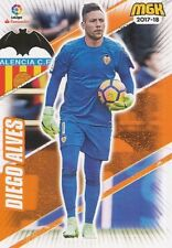 488 DIEGO ALVES BRAZIL VALENCIA.CF BASE CARD CARTA MGK 2018 PANINI