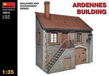 MiniArt 1/35 35515 Ardennes Building (WWII Military Diorama)