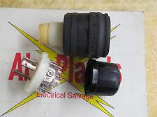 Leviton Nema L5-20, male locking connector, 20 amp 125 volt