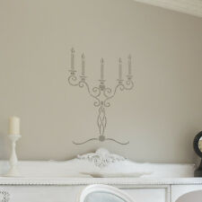Candelabra Stencils Wall Art for DIY Decor instead of a Decal