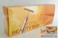 Beauty Bar 24K Gold Facial Massager MC Biken Official Face care F/S EMS Japan