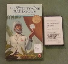 THE TWENTY-ONE BALLOONS William Pène du Bois CHAPTER BOOK TAPE Newbery Medal