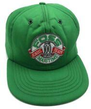 FOSS MARITIME vintage foam front green adjustable cap / hat  - USA Made