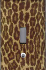 Leopard Skin Home Wall Decor Light Switch Plate Cover