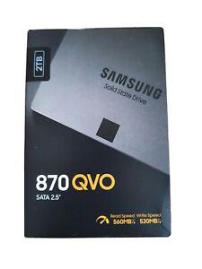 """Samsung 870 QVO 2TB 2.5"""" SATA III Internal SSD (MZ-77Q2T0BW)"""