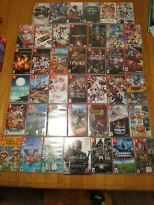 Huge Lot of Nintendo Switch Games! Mario, Limited Run, Hades, etc. -You Pick-