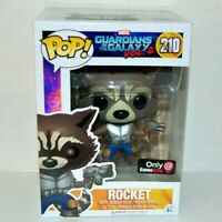 Funko POP! Marvel Guardians of the Galaxy Vol. 2 Rocket #210 GameStop Exclusive