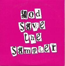 God Save The Sampler - Various Indie CD album UK promo sleeve VVR1028772P V2