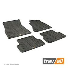 TRAVALL CAR FLOOR MATS for AUDI A6 RS6 S6 AVANT ALLROAD SALOON 11-18 and A7 RS7