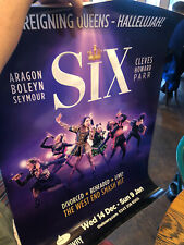 More details for six the musical - a1 poster - rare