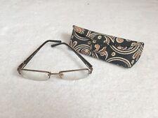 Vera Bradley VB 3030 Caffe Latte 135 Women Designer Eyeglass Metal Frame W/ Case