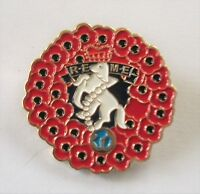 POPPY WREATH REME (ROYAL ELECTRICAL AND MECHANICAL ENGINEERS) BADGE