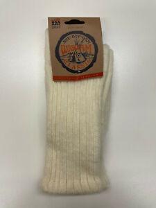 Wigwam Classic She-Boy-Gan Husky Wool Blend Socks NIP Adult Size Medium USA Made