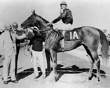 1966 Thoroughbred racehorse BUCKPASSER Glossy 8x10 Photo Braulio Baeza Print