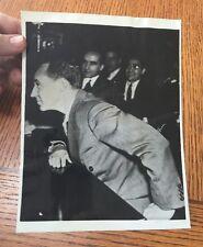 Vintage Press Photo 1938 EDSEL FORD of Ford Motors Testifies in Washington DC