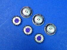 Lot of 3 Lift and Cut Philips Norelco Heads HQ 56 HQ55 HQ4+ HQ3 Reflex Plus