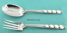 Vintage Tiffany & Co. Sterling Tomato Pattern Solid Berry/ casserole Serving Set