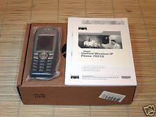 NEU Cisco CP-7921G-E-K9 Wireless IP Phone VoIP Telefon NEW OPEN BOX