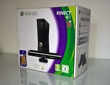 Console XBOX 360 Slim 4GB + Kinect + controller + microfono (nuovo) + 4 giochi