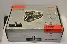 "Polk Audio 6""x9"" 300 Watts 3-Way Full-Range Car Marine Boat Speakers Pair DB691"