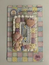 NEW Precious Moments BABY Collection 1996 Switchplate Cover #266337 Heart Love