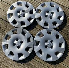 "Genuine Hyundai i20 15"" Wheel Trims Set of 4 Used Original Parts - 529601J605"