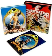 THE BEASTMASTER (1982) Blu-Ray+4K *Marc Singer *w/RARE SLIPCOVER + FIXED DISC!