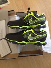 Nike Rory McIlroy Lunar Control 2 golf shoes 11.5 M Black/Volt/Silver 552073 002