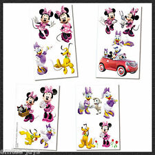 Minnie Mouse Tattoos - Minnie Mouse Party Supplies - Birthday Party Favours Loot