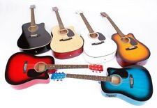 Westerngitarre mit Cutaway und Tonabnehmer 4 Band EQ in 6 Farben