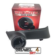 08 15 Evo Lancer (OEM) Driver Side Dash Trim With Digital Boost Gauge 52mm