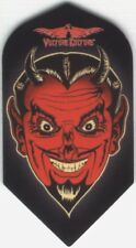 DEVILS' DUE Slim Dart Flights: 3 per set