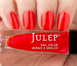 NEW! Julep nail polish JACQUELINE Vernis ~ Bright grenadine shimmer 0.27 fl.oz.