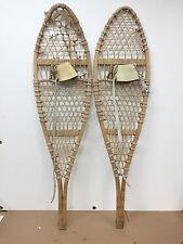 "SWENSON & SWENSON MICHIGAN Snowshoes 13"" X 48"" - For Decor / Arts & Craft"