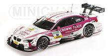MINICHAMPS 2012 BMW M3 DTM Crowne Plaza Priaux #15 1:18*New!