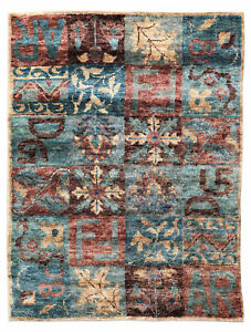 "5.7""x7.10"" Jute Contemporary Handknotted 100% Jute Rugs & Carpet"