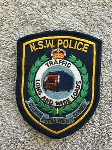 NSW POLICE TRAFFIC PATCH
