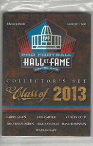 Panini Pro Football Hall of Fame Class of 2013 Card set
