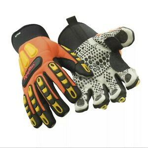 Large, RefrigiWear Men's Insulated HiVis Impact Gloves