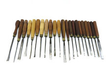 Collection Of 22 Addis & Herring Carving Chisels.