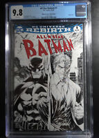 All Star Batman #1 Tyler Kirkham Sketch Variant Midtown Comics Edition CGC 9.8