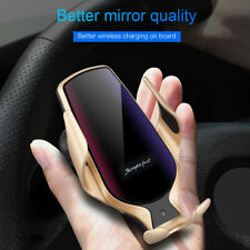 10W Qi Wireless Car Charger Mount Air Vent Cell Phone Holder For iPhone 11 8 XS