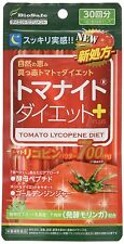 New Tomato Lycopene Diet Slim Rapid Weight Loss Formula 60 tablets Japan