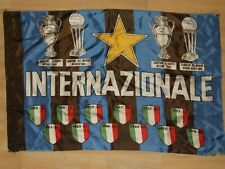 SCIARPA SCARF BANDIERA FLAG CALCIO ULTRAS INTER ACETATO (023)