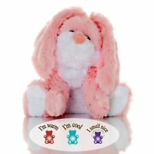 Toasty Rosey Bunny - Lavender Scented Aromatherapy Microwavable Stuffed Animal
