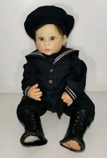 "Lee Middleton Doll Reva Irish Child 1890 signed numbered RARE Sweet Boy 24"" tall"