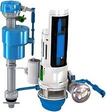 Universal Toilet Repair Kit Installation With Dual Flush Valve Water Saving