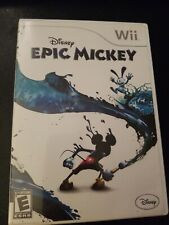 Disney Epic Mickey (Nintendo Wii, 2010) Complete / Tested / Works